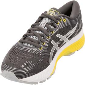 asics Gel-Nimbus 21 Zapatillas Mujer, dark grey/mid grey